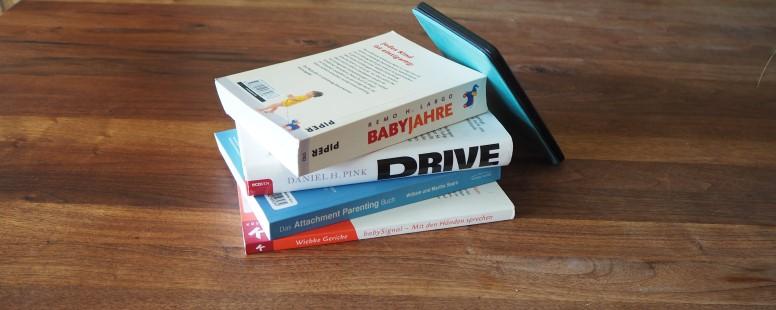 Meine Top 3 Bücher für Agile Eltern (die keine typischen Eltern-Ratgeber sind)